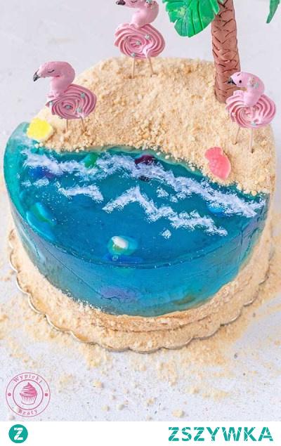 Tort rajska plaża - Najlepsze przepisy   Blog kulinarny - Wypieki Beaty