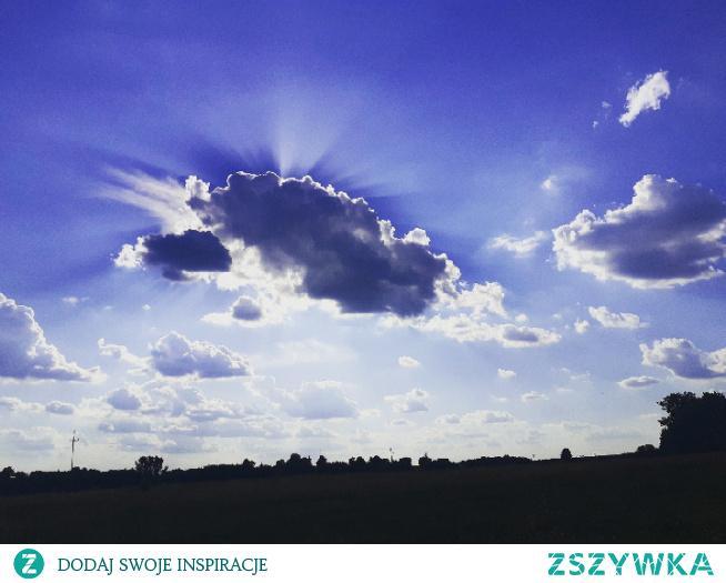#chmury#słońce#