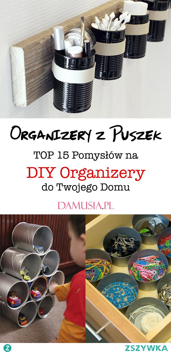 Organizery z Puszek – TOP 15 Pomysłów na DIY Organizery