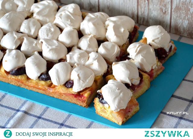 Ciasto, które wygląda i smakuje obłędnie! Rano upiekłam dużą blachę, a wieczorem zostały już tylko okruszki :) Zrobisz bezproblemowo.