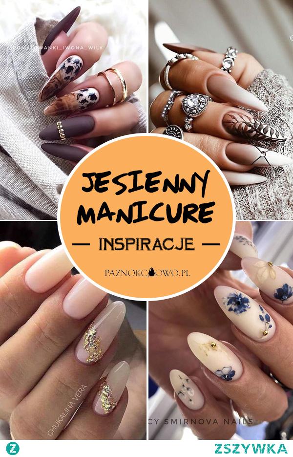 Jesienny Manicure – TOP 28 Inspiracji na Jesienne Paznokcie Które Musicie Zobaczyć!