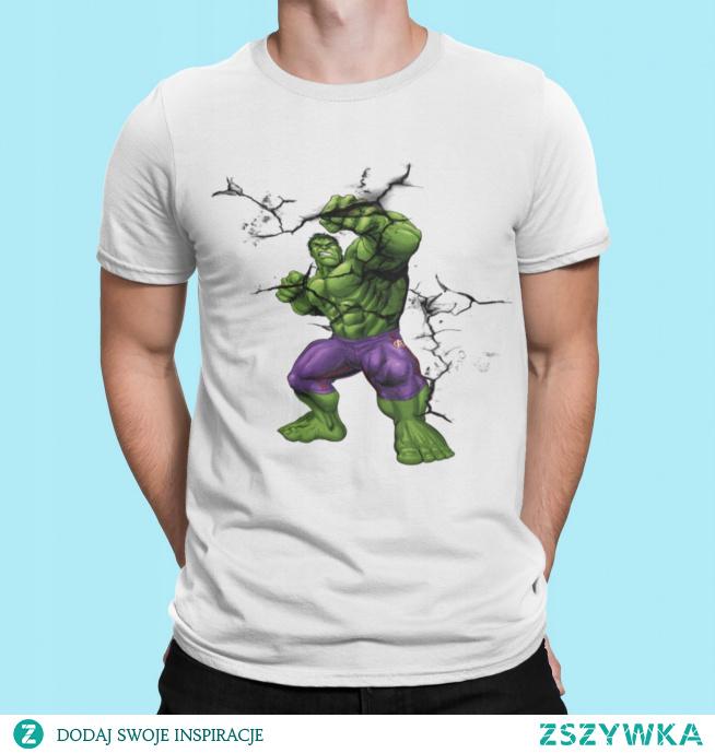 Koszulka z Hulkiem.Kliknij w zdjęcie aby przenieść się do sklepu :)