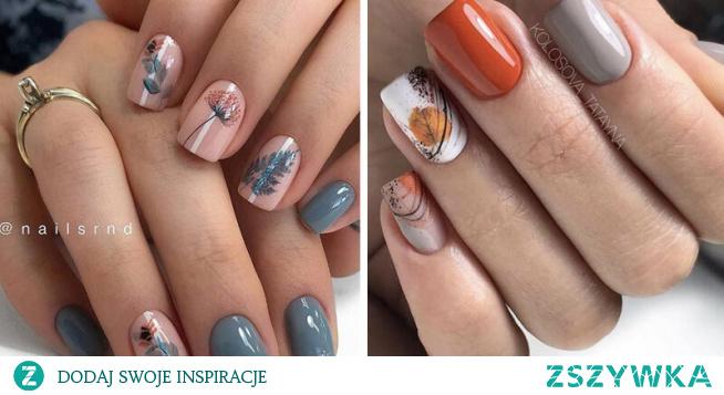 Najnowsze inspiracje na jesienne paznokcie 2020!