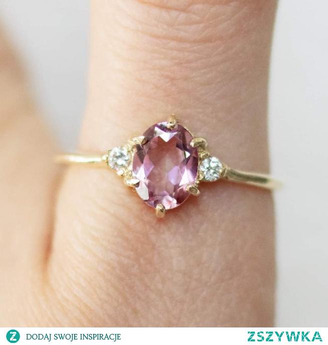 #morganit #trzpiotka #biżuteria #pierścionek