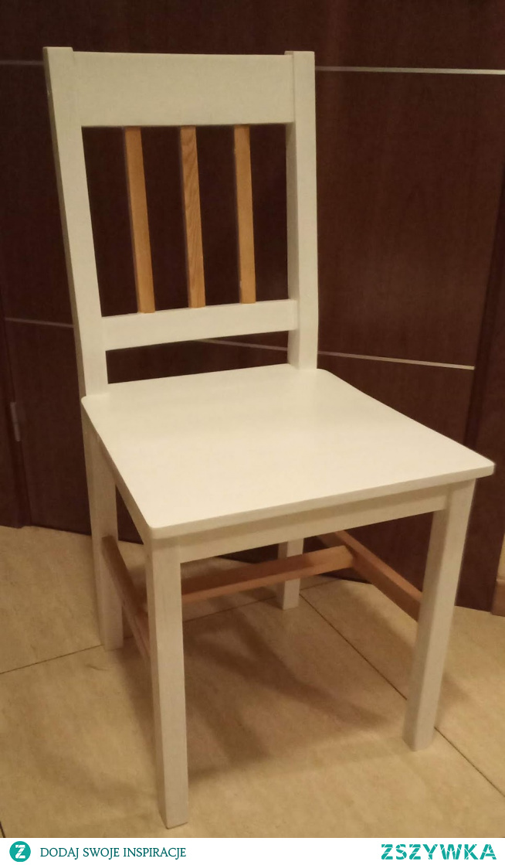jak odnowić stare drewniane krzesło