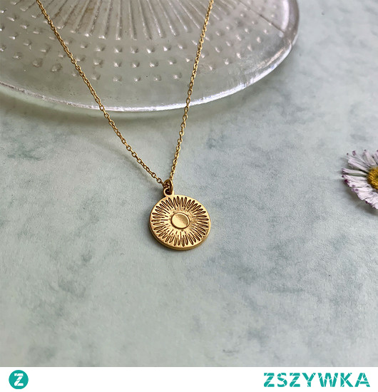 słoneczna biżuteria  #złoto #naszyjnik # biżuteria