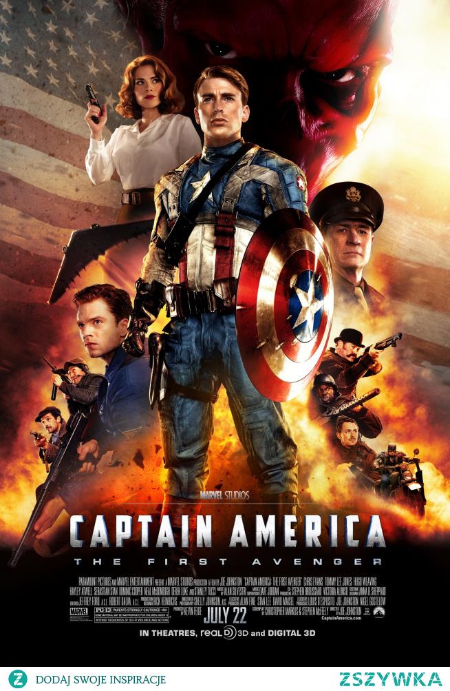 55. Kapitan Ameryka: Pierwsze starcie (2011)