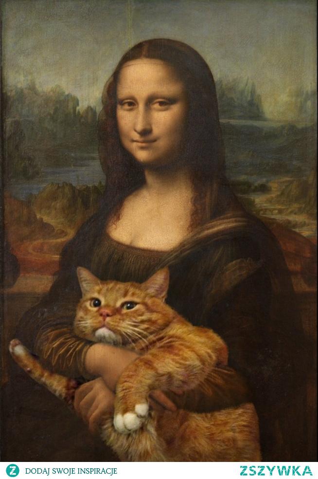 Mona Lisa #kitty #cat