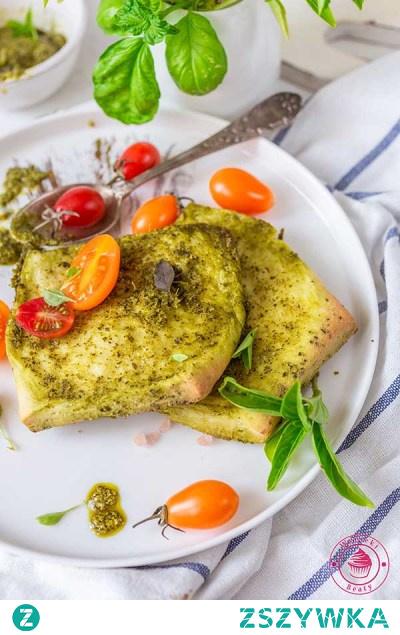 Odrywany chlebek z pesto - Najlepsze przepisy   Blog kulinarny - Wypieki Beaty
