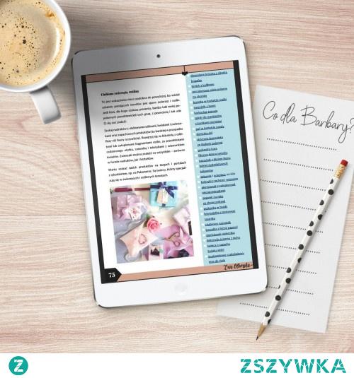 """Chcesz poznać ponad 750 pomysłów na prezenty? Kup e-booka """"Tajemnica trafionego prezentu"""" [kliknij w zdjęcie]"""