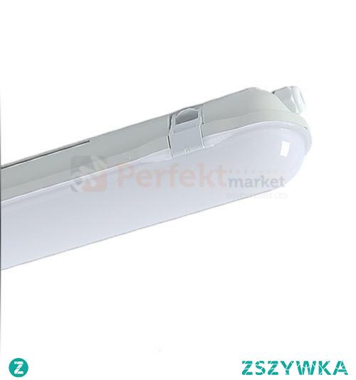 Dobrej jakości lampa hermetyczna led 60cm  to idealne źródło światła dla lokali usługowych oraz przemysłowych.