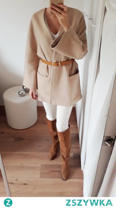 Płaszcz wełna camel *NEW* po szczegóły kliknij w zdj.