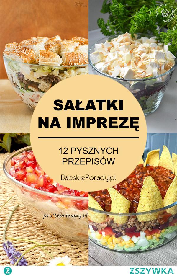 Sałatki na imprezę – 12 sprawdzonych przepisów na pyszne sałatki