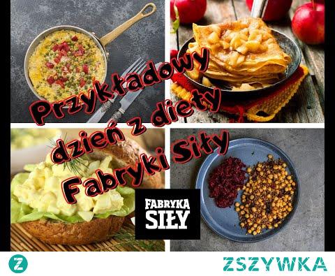 Przykładowy dzień diety z fabryki siły. Na tym filmiku zobaczycie jak wyglądają przykładowe posiłki w losowym dniu na diecie z fabryki siły.