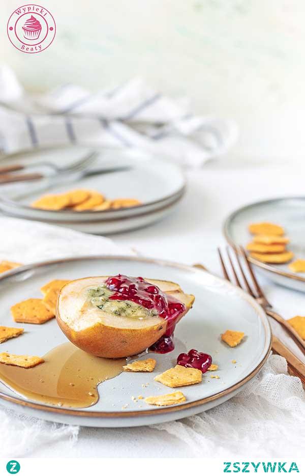 Gruszki z serem i borówką - Najlepsze przepisy   Blog kulinarny - Wypieki Beaty