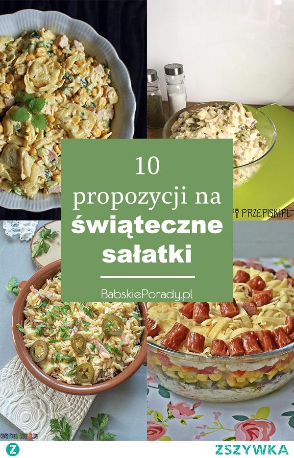 10 propozycji na świąteczne sałatki