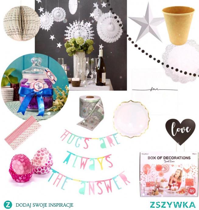 Pierwsza rocznica ślubu (papierowe gody)- po kliknięciu w link - pomysły na papierowe dekoracje