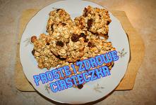 Dietetyczne i proste w przygotowaniu ciasteczka. Jedno ciastko to tylko 60 kcal