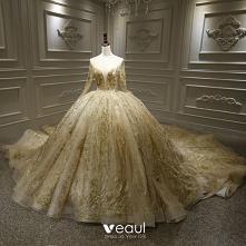 Luksusowe Szampan ślubna Su...
