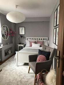 #mała #sypialnia
