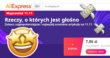 Festiwal obniżek na AliExpr...