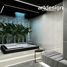 Pomysł na domowe spa: pokój kąpielowy z wanną jacuzzi | WORK HARD, DREAM BIG | Wnętrza apartamentu