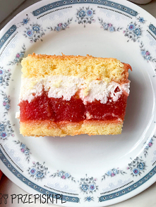 Ciasto z Jabłkami i Śmietaną