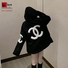 シャネルchanel ファーマスクパーカーコート 冬暖かいファッション シンプル黒白激安販売  ご覧いただきありがとうございます。  高級な視覚を造り、気質、とても美しい、かっこいいです!! とても人気なデザインです!  Chanel 毛皮/ファーコート 秋冬 ソフト 暖かい オシャレ小香風 ジッパー コート帽子付きレディース向け