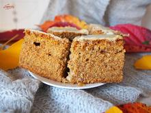 Ciasto marchewkowe z białą ...