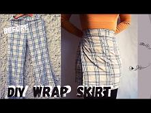 modna spódniczka diy