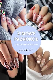 Zjawiskowy Manicure w Zimow...