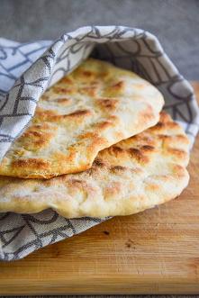 Chlebek naan - indyjski chl...