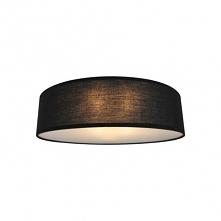 Lampa sufitowa czarna CL12029-D30-BK CLARA Zuma Line w kształcie koła o średnicy 30 cm. Clara to lampy sufitowe czarne do gustownych salonów, sypialni, jadalni czy biur. Clara w...