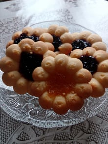 Ciasteczka maślane z marmol...