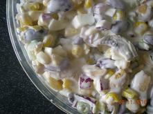 salatka-z-kurczakiem-i-fasola