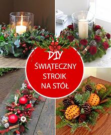 Świąteczny Stroik na Stół –...