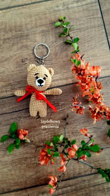 breloczek z włóczki - handmade