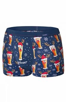 Cornette 007/53 Beer Merry Christmas bokserki