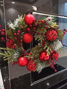 wieniec na drzwi.  #ozdoby #swieta #bozenarodzenie