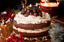 Świąteczne ciasto czekolado...