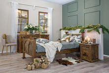 meble woskowane do sypialni...