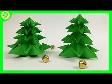 Jak zrobić Choinkę Origami ...