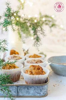 Muffinki dyniowo-piernikowe...