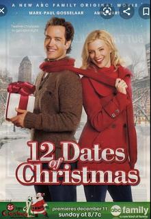 12 świątecznych randek *** Dwudziestokilkuletnia Kate Stanton (Amy Smart) wciąż nie może pogodzić się z rozstaniem z Jackiem (Benjamin Ayres). W Wigilię kobieta umawia się na ra...