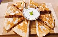 Quesadillas z szarpanym kur...