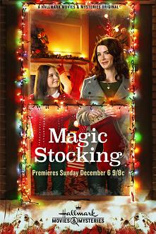Magiczna skarpeta *** Zbliżają się święta. Lindsey wraz z córką Hanną ze smutkiem wspominają zmarłego męża i ojca. Gdy na świątecznym jarmarku Hanna kupuje skarpetę na prezenty,...