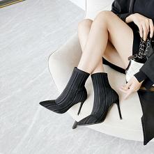 Moda Czarne Zużycie ulicy D...