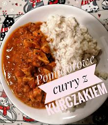 Przepis na pomidorowe curry...