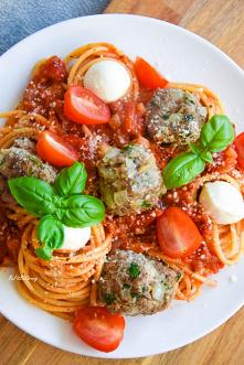 Spaghetti w sosie pomidorow...