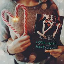 """Czytaliście już """"Hate-Love, Love-hate""""?  Zapraszamy na recenzje instagram sisters_as_books :)"""